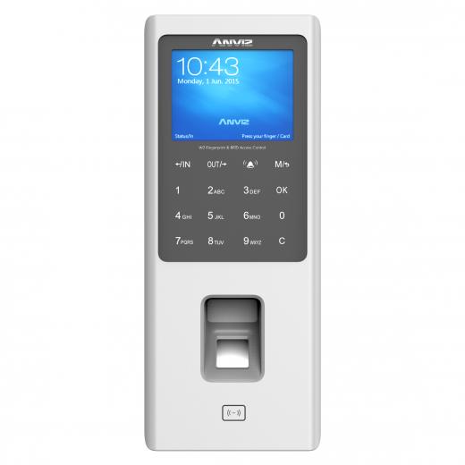 anviz W2 Color Screen Fingerprint & RFID Access Control